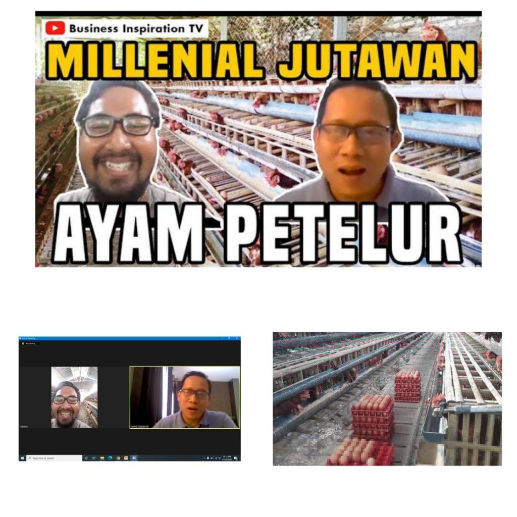 Millenial Jutawan Pengusaha Ayam Petelur - SeminarBisnis.id
