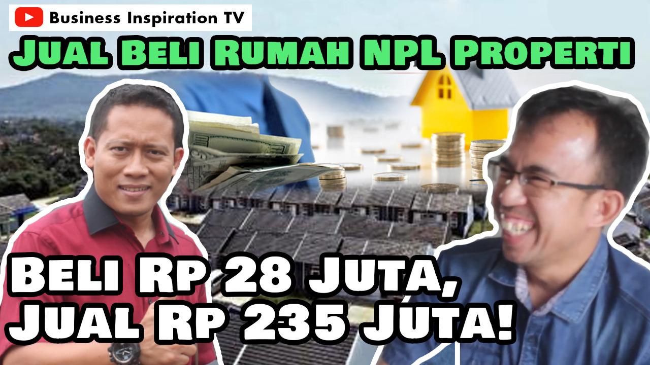 Jual Beli Rumah NPL Properti, Beli Rp. 28 Juta, Jual Rp ...